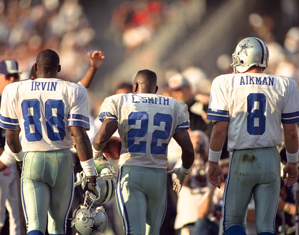 13961 346789805435 192525890435 10068796 5056384 n Photo: Dallas Cowboys with Troy Aikman, Michael Irvin and Emmitt Smith
